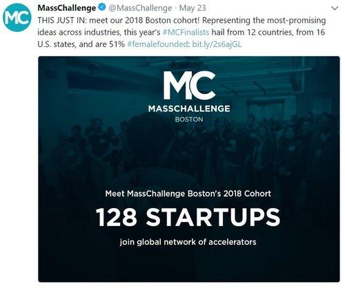 MASS CHALLENGE FINALIST