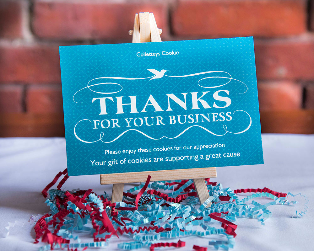 Thanks For Your Business Gift