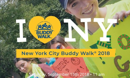 NATIONAL DOWN SYNDROME SOCIETY BUDDY WALK NEW YORK