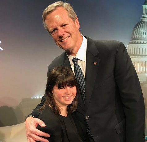 Gov Charlie Baker n Collette